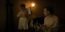 Sara Viktoria Bjerregaard Christensen nude topless - Lykke-Per (DK-2018) HD 1080p Web (8)