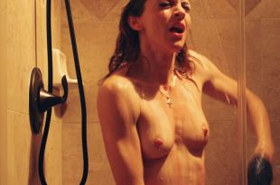 Youlika Skafida nude topless in the shower – A Lonely Woman (2018) HD 1080p Web