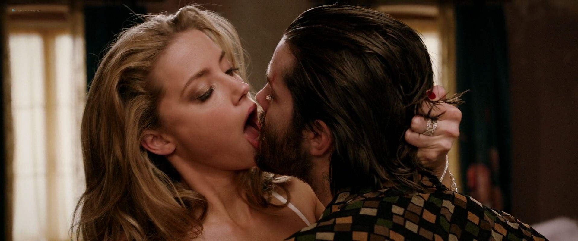 Amber Heard Porn Movie amber heard nude butt and very hot - london fields (2018) hd