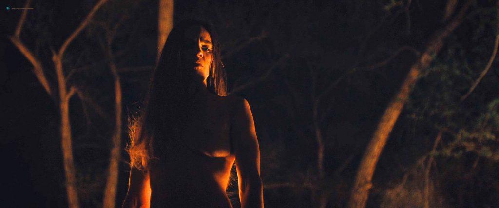 Hilary Swank nude bush Sonja Richter nude topless - The Homesman (2014) HD 1080p BluRay (6)