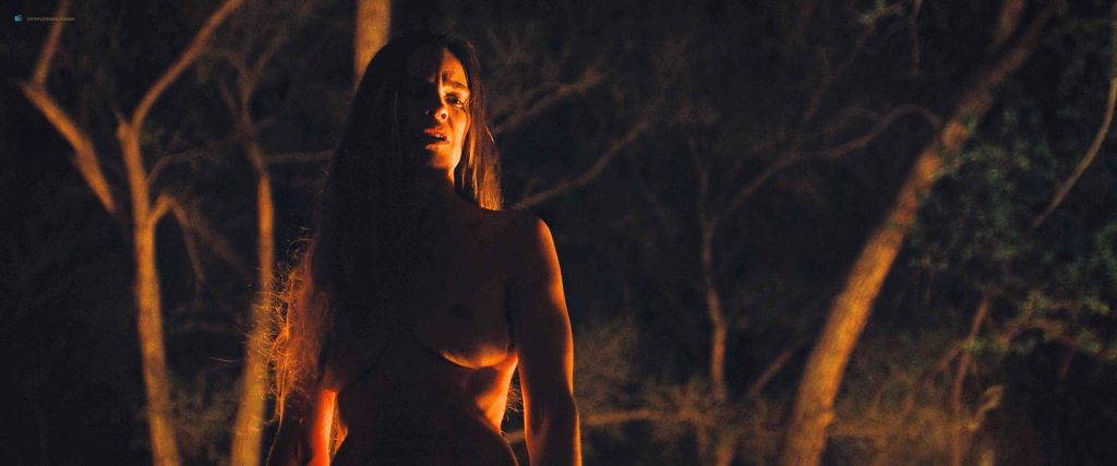 Hilary Swank nude bush Sonja Richter nude topless - The Homesman (2014) HD 1080p BluRay (5)