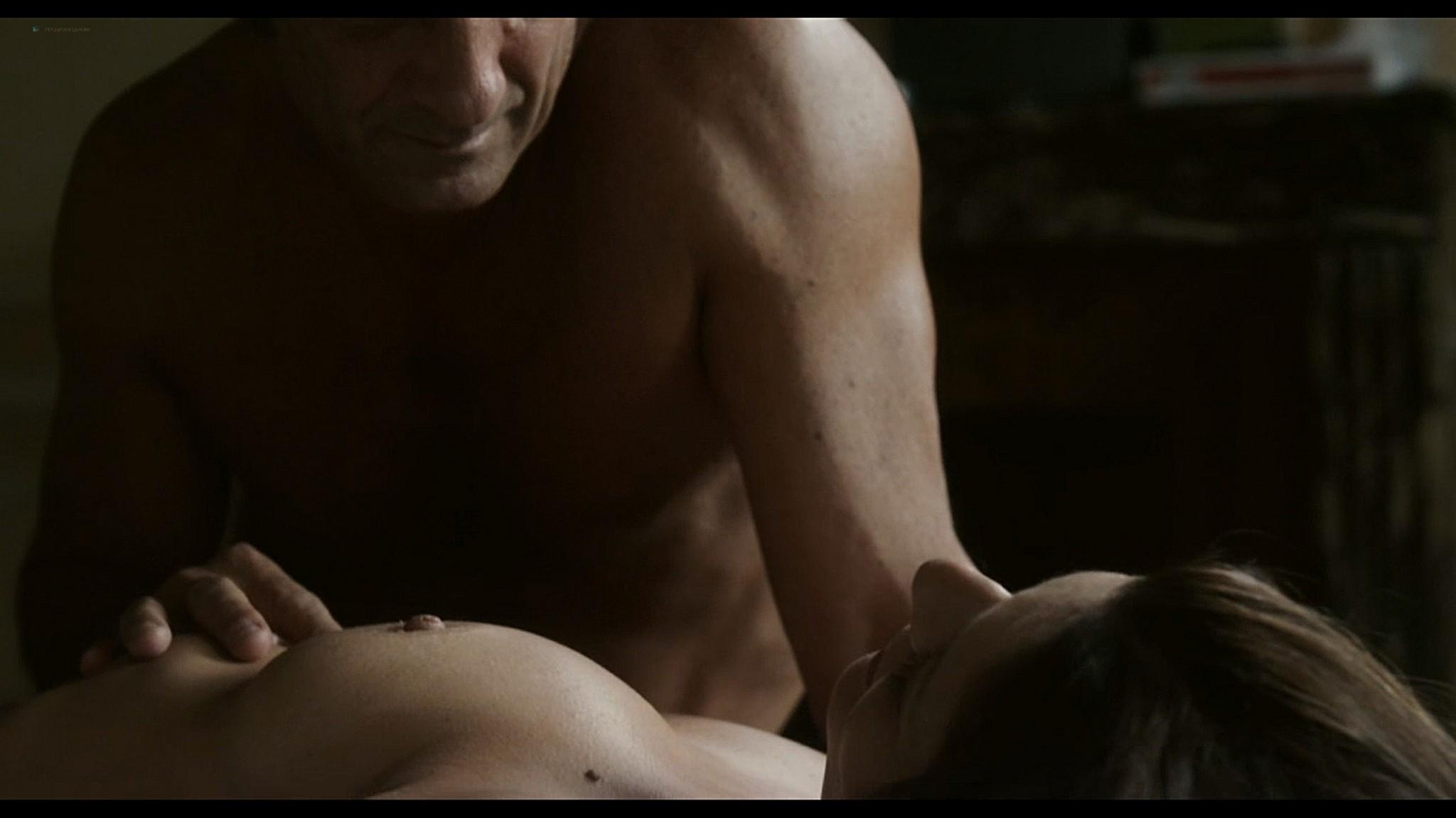 Lola Creton nude full frontal and Chiara Mastroianni nude sex - Bastards (2013) HD 1080p (5)