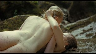 Marlene Hauser nude and Luzia Oppermann nude lesbian sex - The Field Guide to Evil (2018) HD 1080p