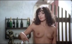 Ursula Andress nude full frontal Carla Romanelli and Luciana Paluzzi nude bush too in The Sensuous Nurse (1975) (17)