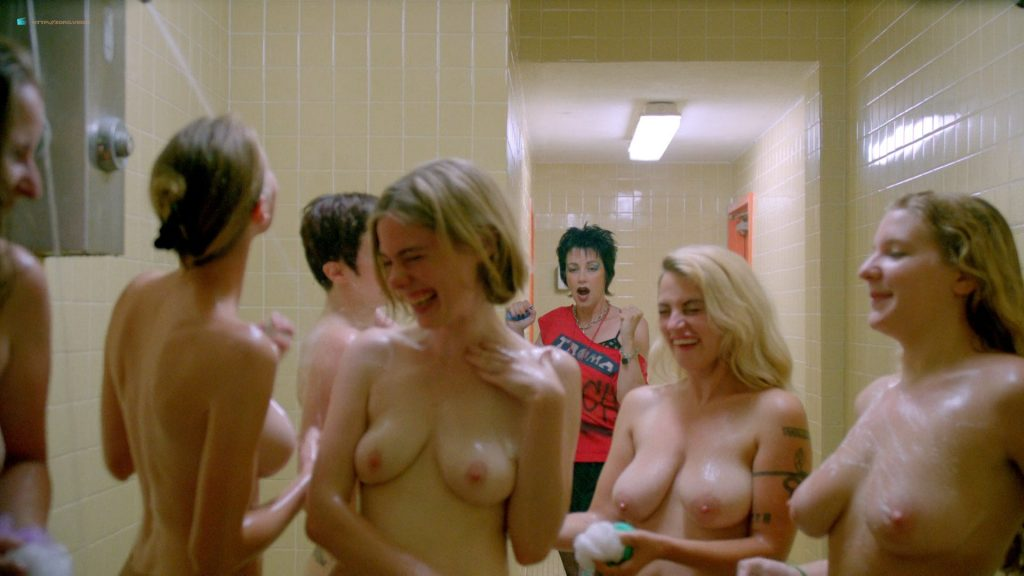 Asta Paredes nude lesbian sex with Catherine Corcoran - Return to Nuke 'Em High Volume 1 (2013) HD 1080p BluRay (11)