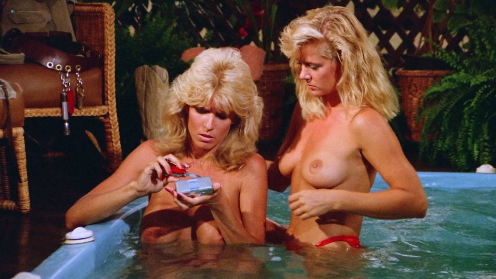 Dona Speir nude Hope Marie Carlton and Patty Duffek nude too- Hard Ticket to Hawaii (1987) HD 1080p BluRay (17)