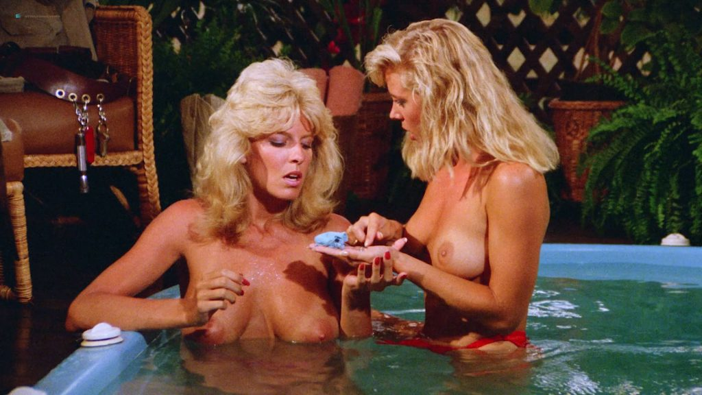 Dona Speir nude Hope Marie Carlton and Patty Duffek nude too- Hard Ticket to Hawaii (1987) HD 1080p BluRay (16)