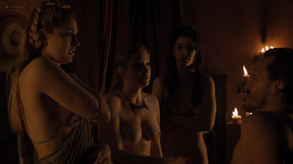 Josephine Gillan nude full frontal Lucy Aarden nude - Game of Thrones(2019) s8e1 HD 720/1080p (11)
