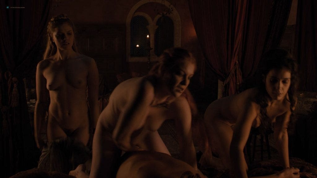 Josephine Gillan nude full frontal Lucy Aarden nude - Game of Thrones(2019) s8e1 HD 720/1080p (9)