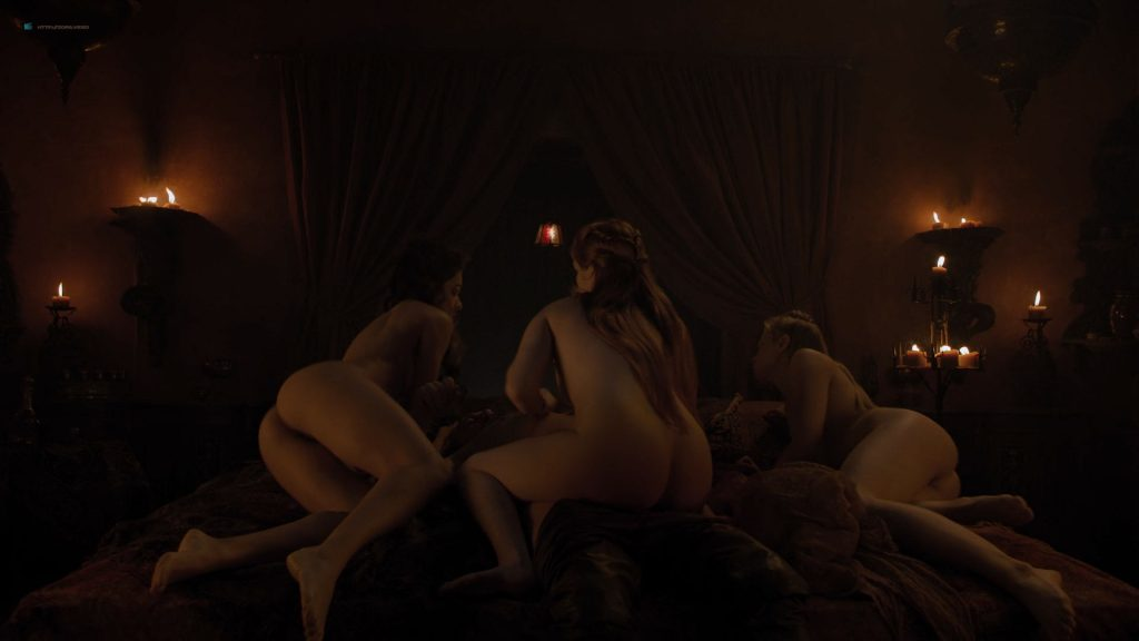 Josephine Gillan nude full frontal Lucy Aarden nude - Game of Thrones(2019) s8e1 HD 720/1080p (7)