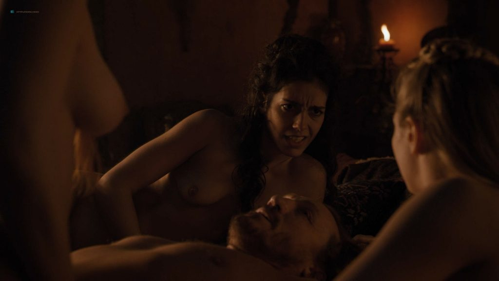 Josephine Gillan nude full frontal Lucy Aarden nude - Game of Thrones(2019) s8e1 HD 720/1080p (5)