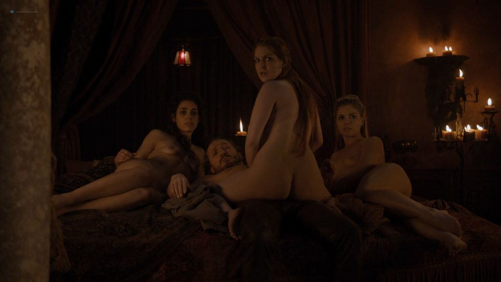 Josephine Gillan nude full frontal Lucy Aarden nude - Game of Thrones(2019) s8e1 HD 720/1080p (4)