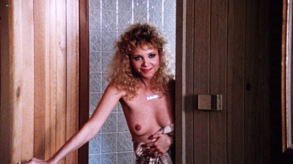 Kimberly McArthur nude topless Sybil Danning, Barbara Edwards other's nude too - Malibu Express (1985) HD 1080p BluRay (10)