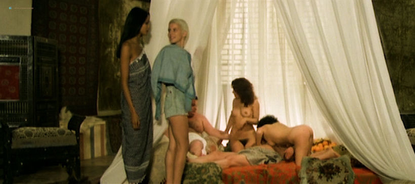 Laura Gemser nude full frontal Annie Belle and others nude and hot sex - Black Emmanuelle, White Emmanuelle (1977) (7)