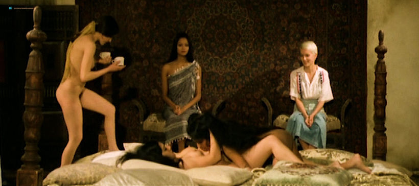 Laura Gemser nude full frontal Annie Belle and others nude and hot sex - Black Emmanuelle, White Emmanuelle (1977) (6)