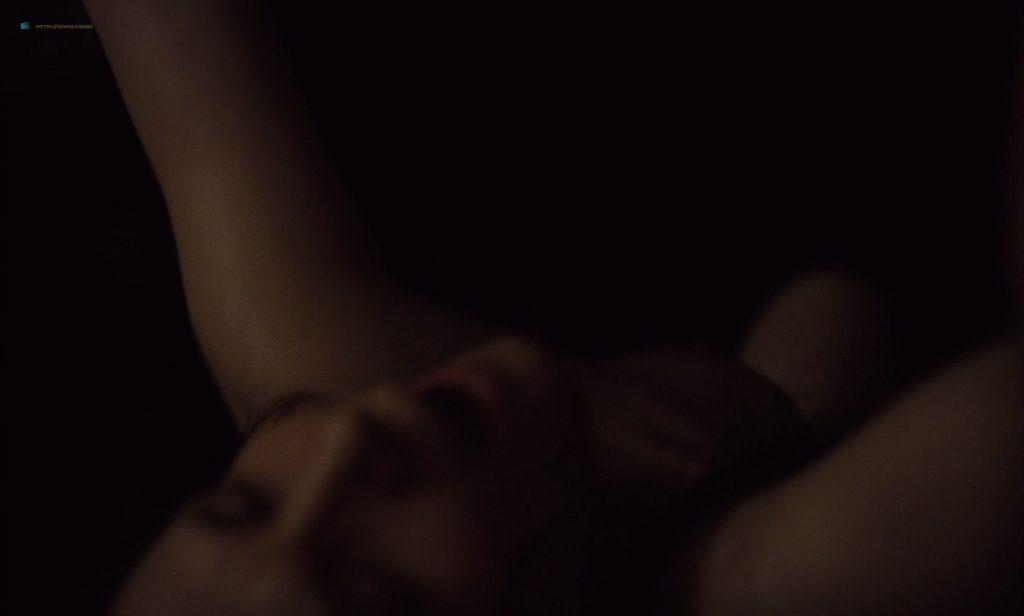 Mia Goth nude topless and Juliette Binoche nude too - High Life (2018) HD 1080p BluRay (10)