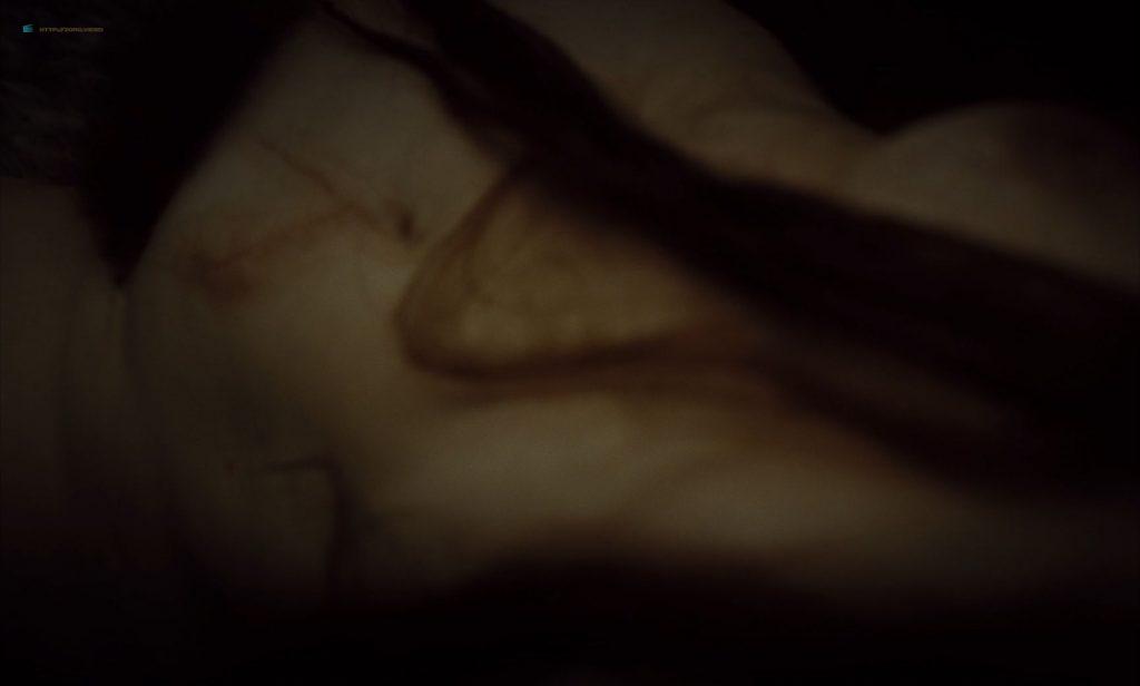 Mia Goth nude topless and Juliette Binoche nude too - High Life (2018) HD 1080p BluRay (8)