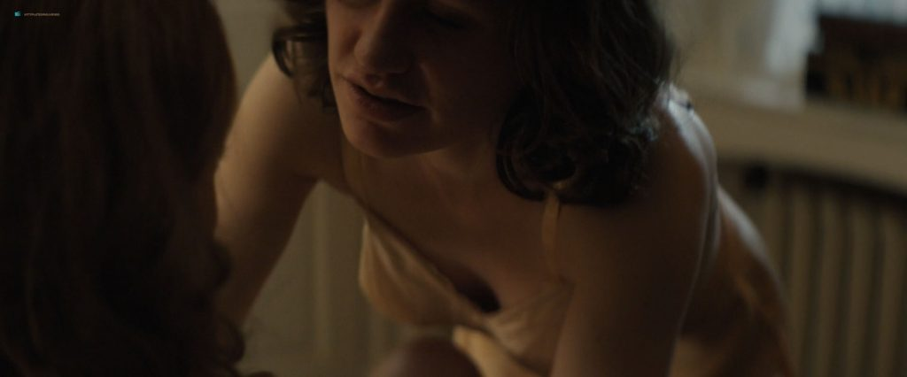 Anna Paquin nude topless and lesbian sex with Holliday Grainger - Tell It to the Bees (2018) HD 1080p Web (9)