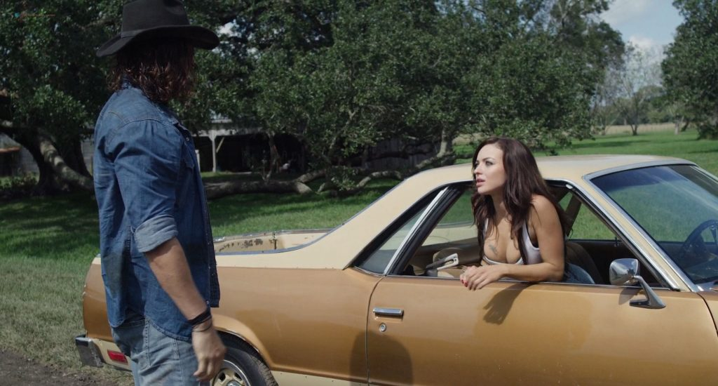 Francesca Eastwood hot sex Claire Holt and Alycia Debnam-Carey hot - A Violent Separation (2019) HD 1080p (14)