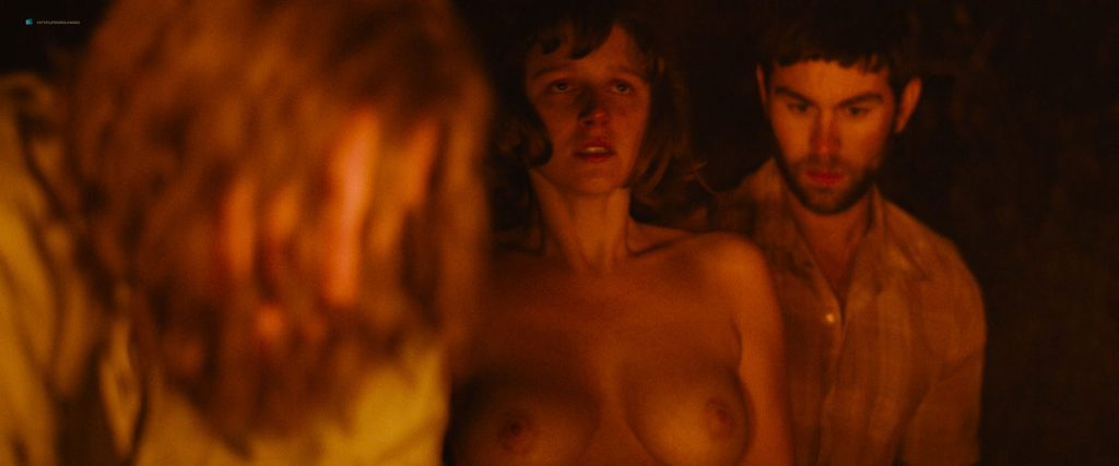 Hannah Murray nude sex Marianne Rendón, Kayli Carter and others nude too - Charlie Says (2018) HD 1080p Web (17)