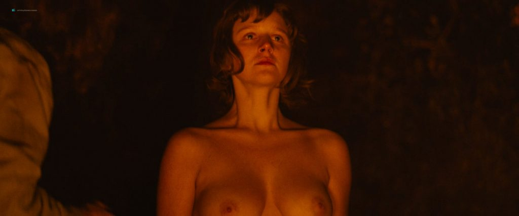 Hannah Murray nude sex Marianne Rendón, Kayli Carter and others nude too - Charlie Says (2018) HD 1080p Web (16)