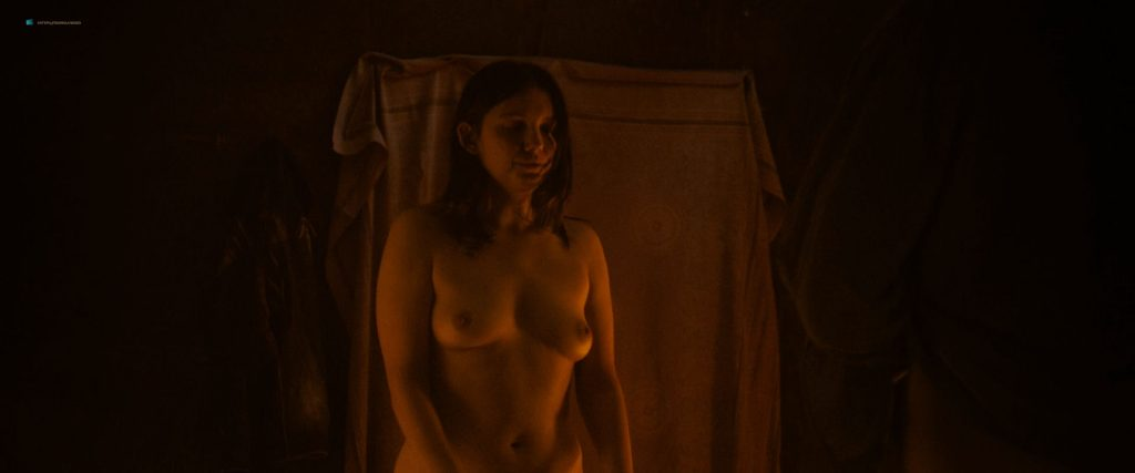 Hannah Murray nude sex Marianne Rendón, Kayli Carter and others nude too - Charlie Says (2018) HD 1080p Web (10)