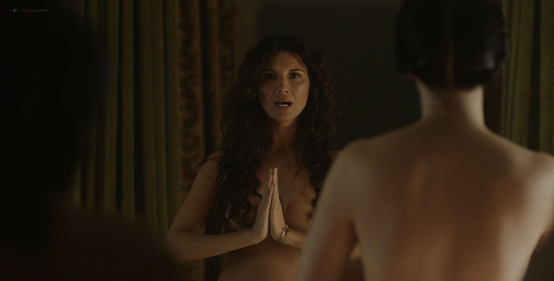 Amara Zaragoza nude topless Bella Heathcote hot orgy sex – Strange Angel (2018) s2e2 HD 1080p WEB (6)