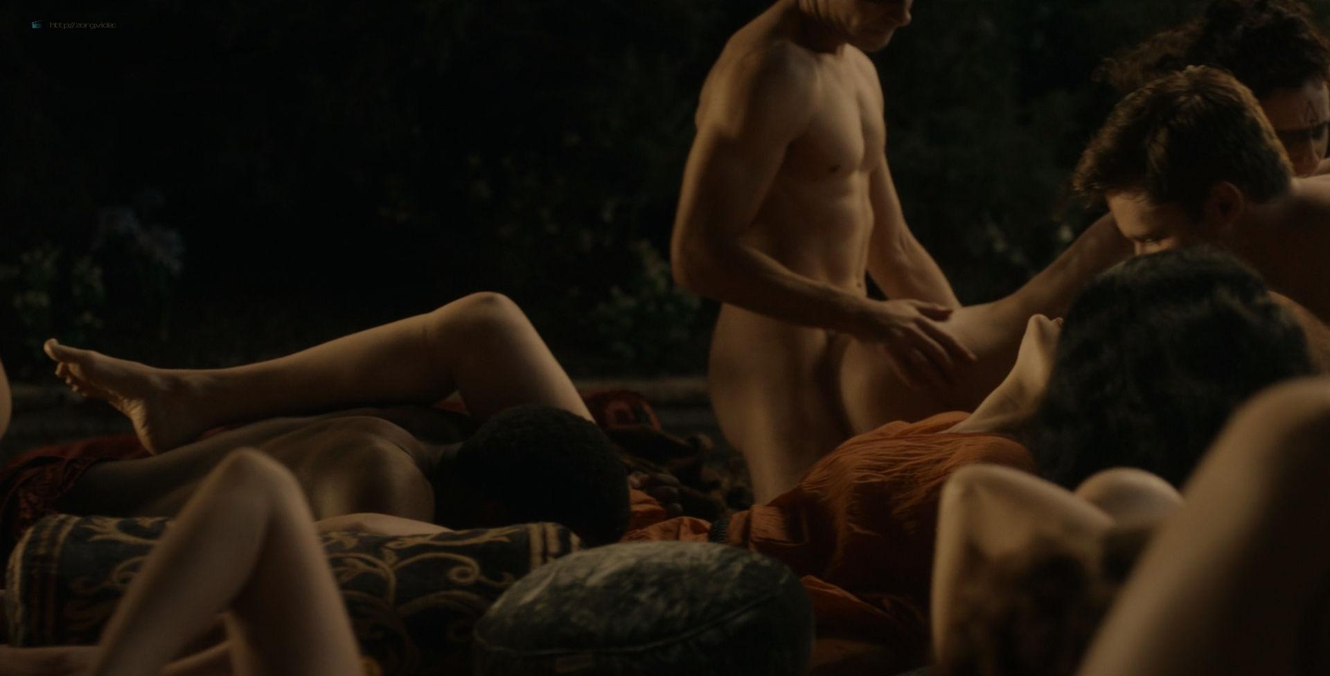 Amara Zaragoza nude topless Bella Heathcote hot orgy sex – Strange Angel (2018) s2e2 HD 1080p WEB (4)