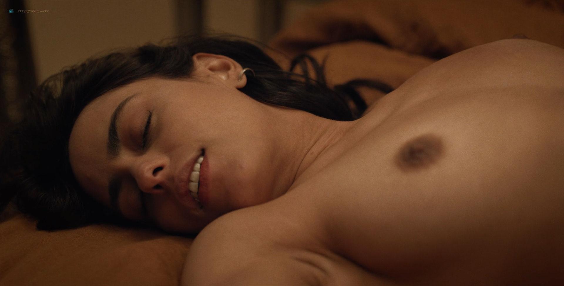 Ana Layevska nude lesbian sex with Florencia Ríos - Yankee (2019) S1 HD 1080p (7)