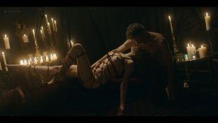 Bella Heathcote nude topless and tied up - Strange Angel (2019) s2e3 HD 1080p