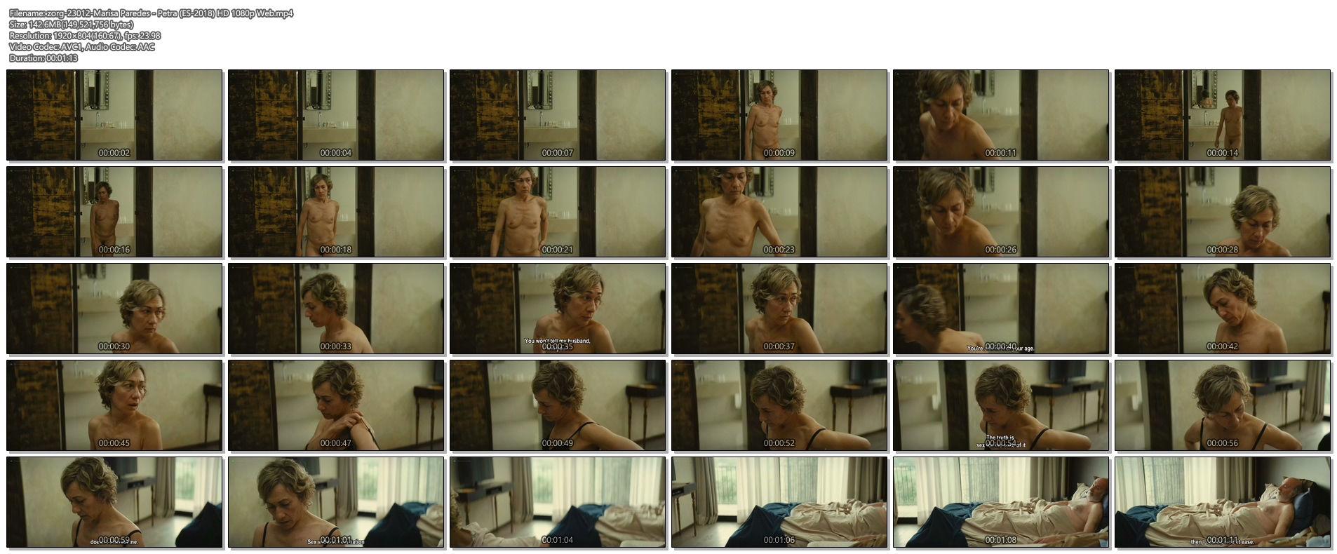 Carme Pla nude full frontal - Petra (ES-2018) HD 1080p Web (1)