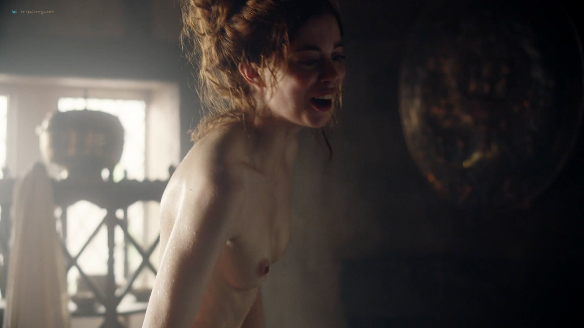 Charlotte Hope nude topless – The Spanish Princess (2019) s1e6 HD 1080p Web (5)