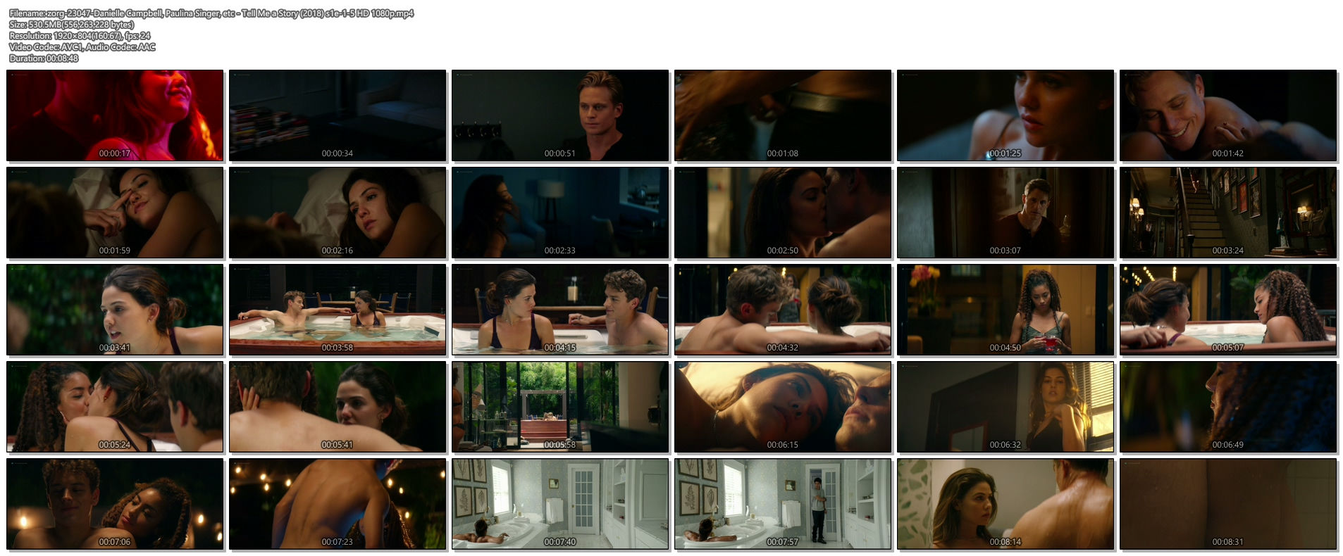 Danielle Campbell hot sexy Paulina Singer hot - Tell Me a Story (2018) s1e-1-5 HD 1080p (1)