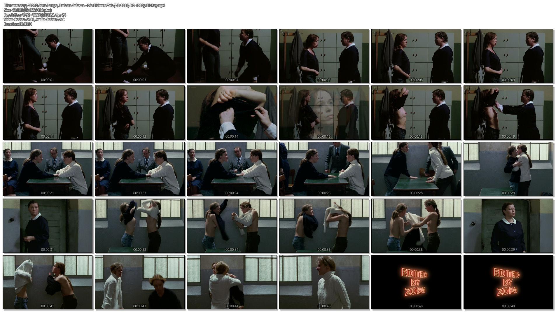 Jutta Lampe nude Barbara Sukowa nude topless - Die Bleierne Zeit (DE-1981) HD 1080p BluRay (1)