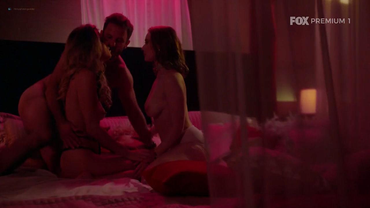 Maria Bopp nude sex threesome with Ana Hartmann - Me Chama De Bruna (2018) S03E07 HDTV 720p (10)