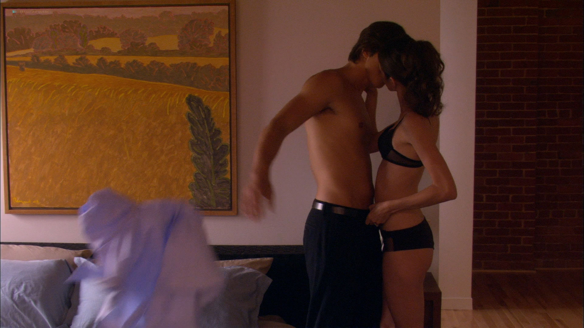 Amy Acker hot lingerie and sex - A Near Death Experience (2008) HD 1080p WEB (7)