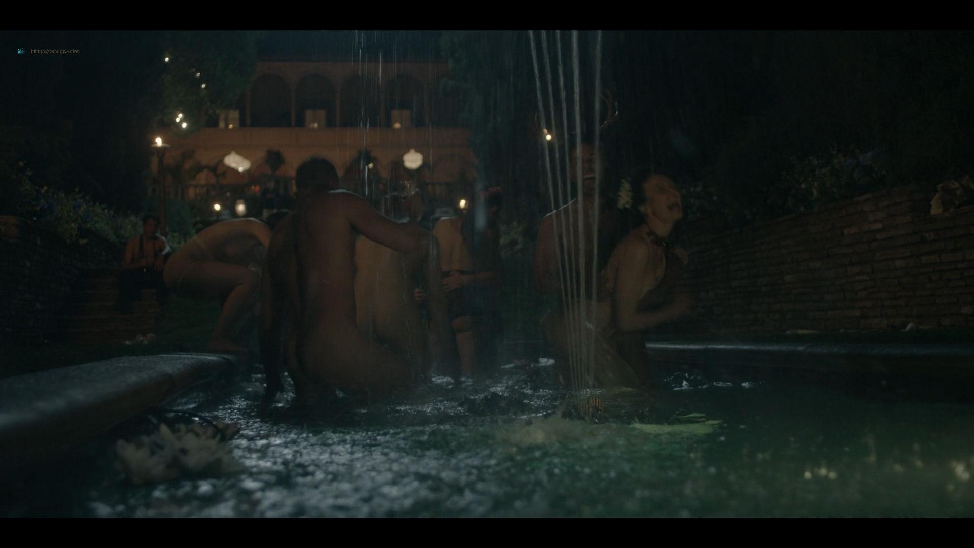Bella Heathcote nude topless and butt Veronica Osorio nude - Strange Angel - (2019) s2e5 HD 1080p (2)