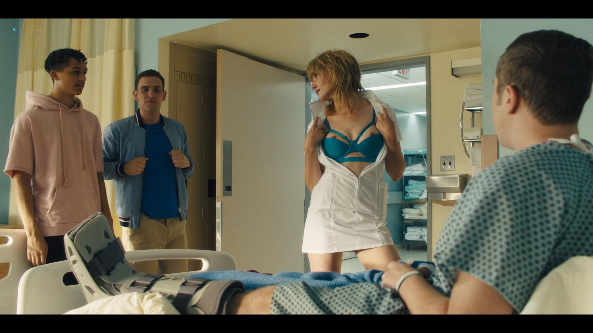 Carla Gugino sexy Gaite Jansen nude topless - Jett (2019) s1e4 HD 1080p (6)