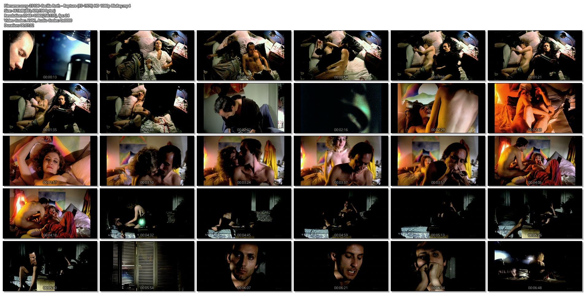 Cecilia Roth nude and sex - Rapture (ES-1979) HD 1080p BluRay (1)
