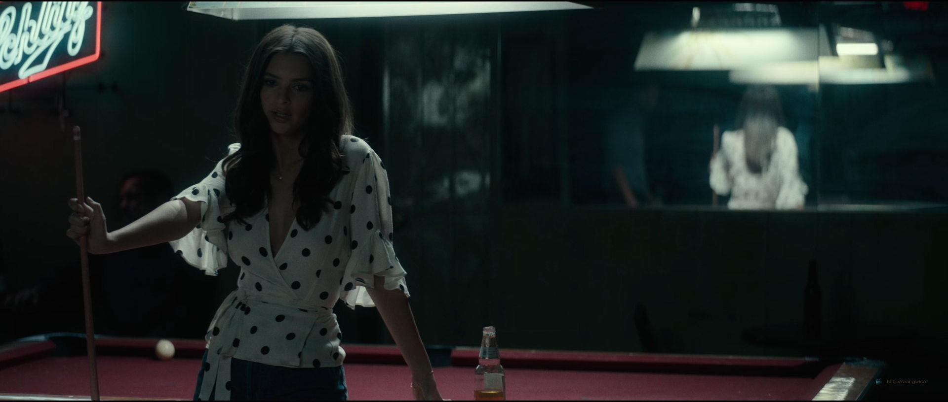 Emily Ratajkowski hot sideboob - Lying and Stealing (2019) 1080p WEB (10)
