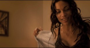 Rosario Dawson hot and some sex - Fire with Fire (2012) HD 1080p (6)