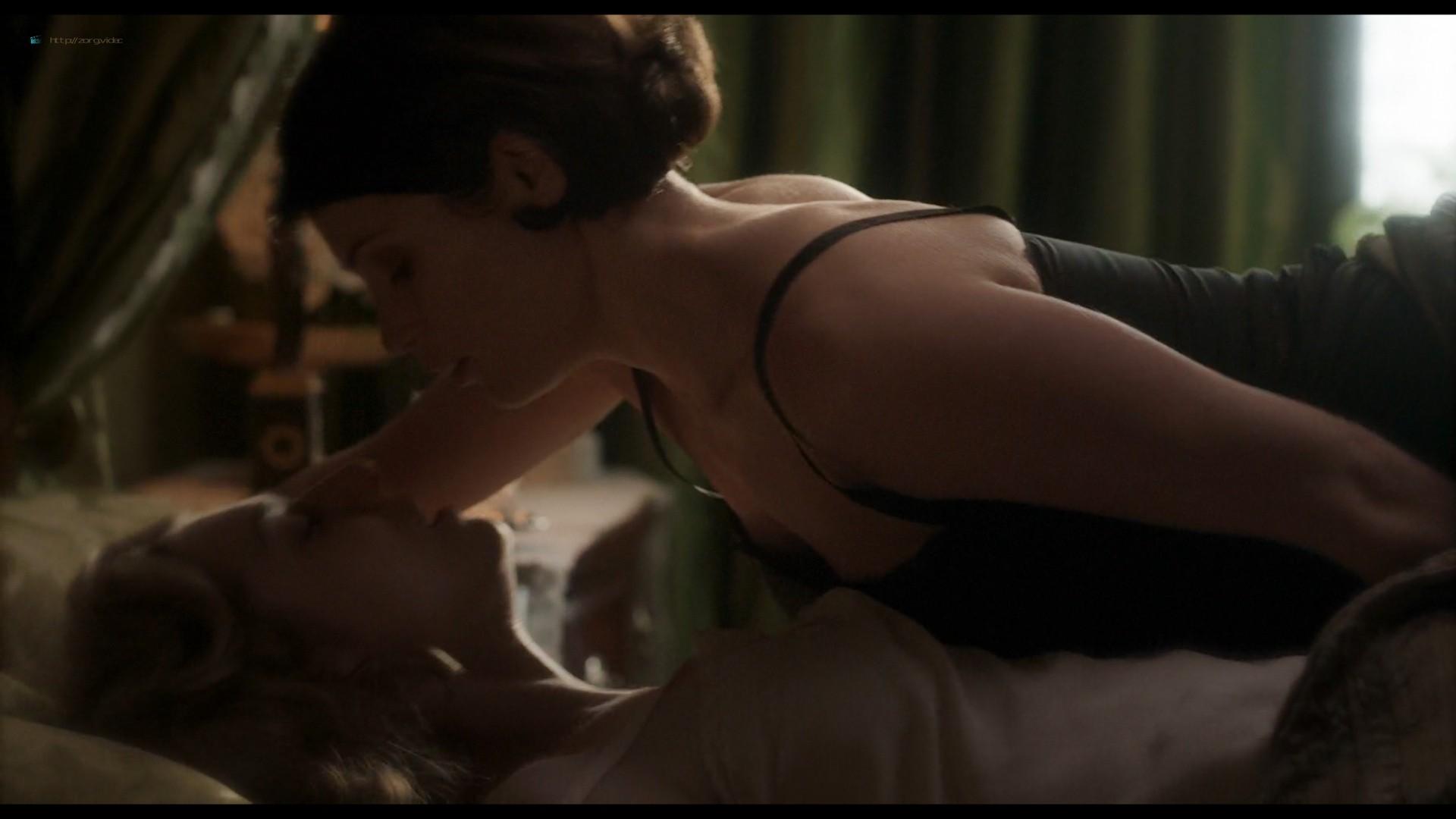 Elizabeth Debicki nude and Gemma Arterton lesbian sex - Vita & Virginia (2018) HD 1080p Web (12)