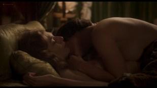 Elizabeth Debicki nude and Gemma Arterton lesbian sex  - Vita & Virginia (2018) HD 1080p Web