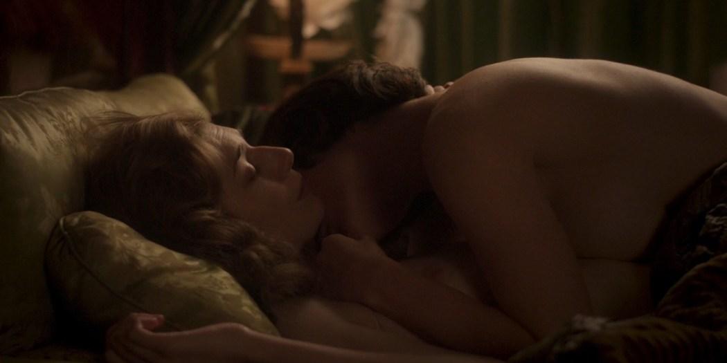 Elizabeth Debicki nude and Gemma Arterton lesbian sex - Vita & Virginia (2018) HD 1080p Web (9)