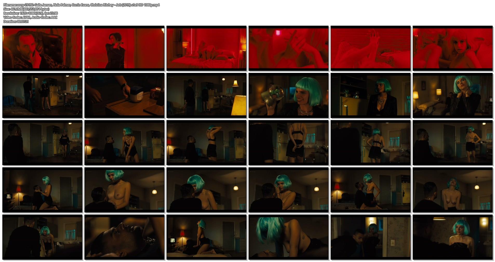Gaite Jansen nude sex Nola Palmer nude too - Jett (2019) s1e9 HD 1080p (1)