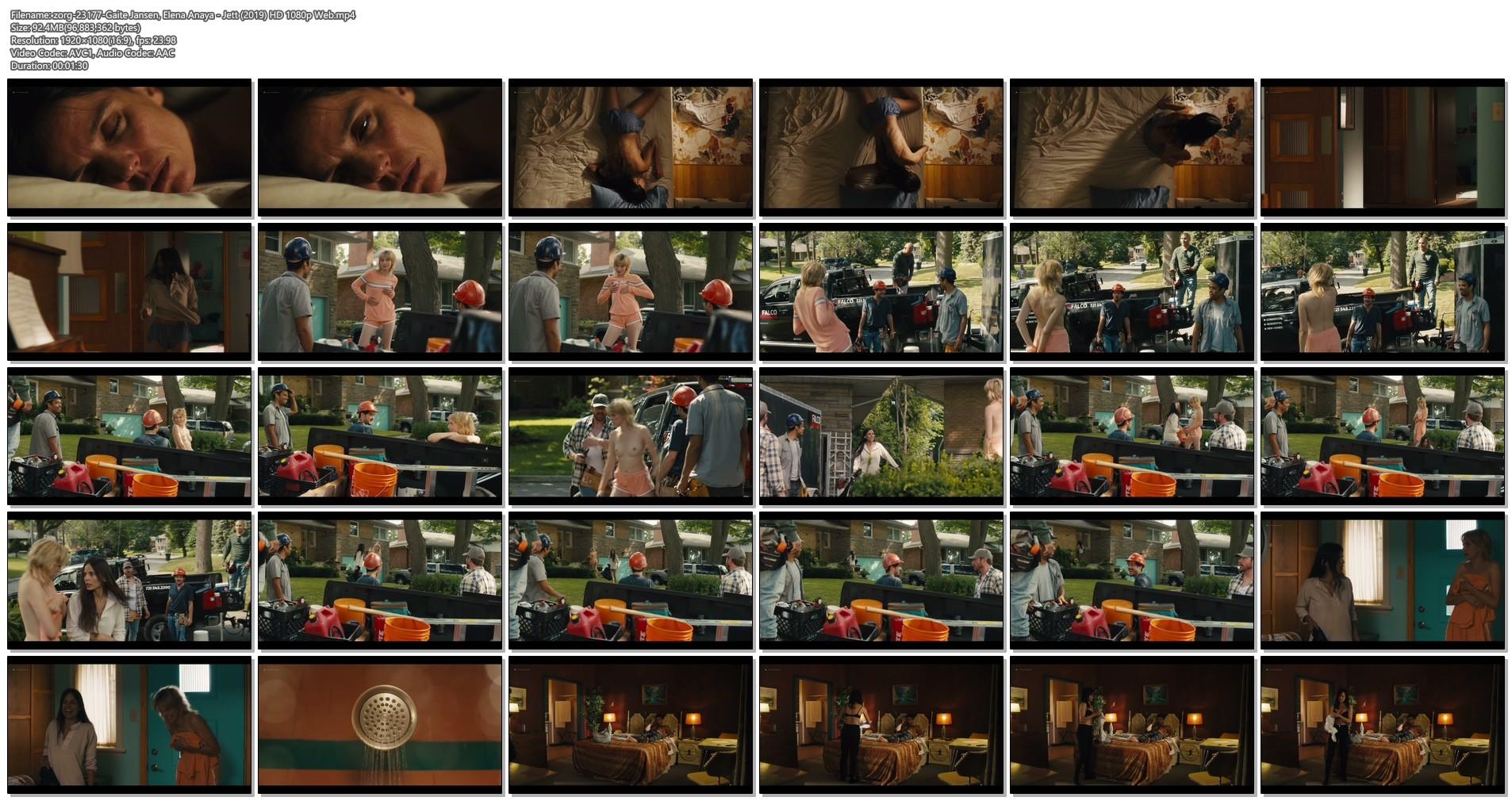 Gaite Jansen nude topless Elena Anaya, Carla Gugino hot - Jett (2019) HD 1080p Web (1)