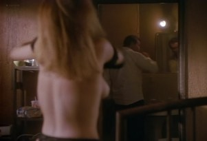 Marg Helgenberger nude sideboob - Tales from the Crypt (1991) s3e12