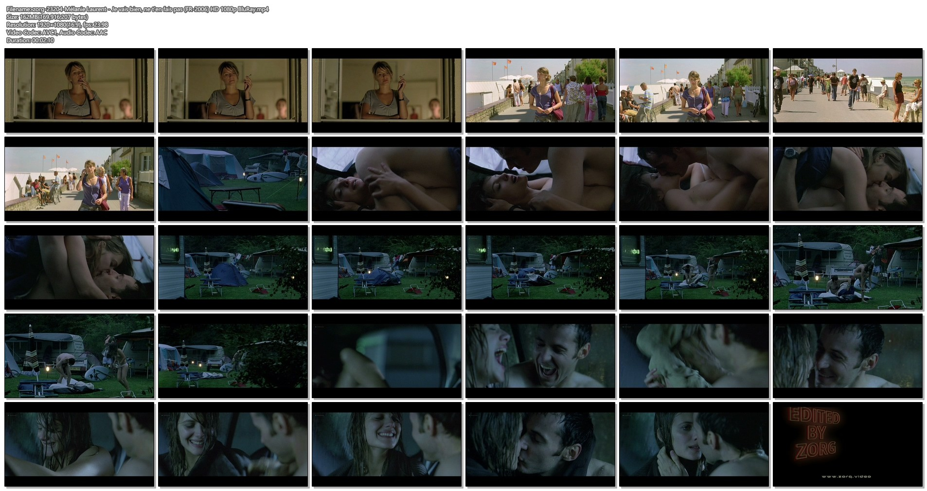 Mélanie Laurent nude bush and sex - Je vais bien, ne t'en fais pas (FR-2006) HD 1080p BluRay (1)