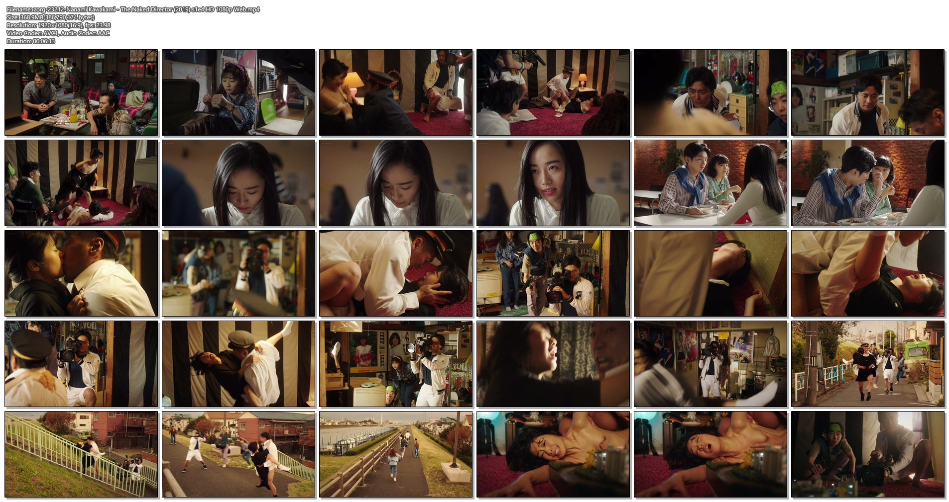 Nanami Kawakami nude and hot sex - The Naked Director (2019) s1e4 HD 1080p Web (1)