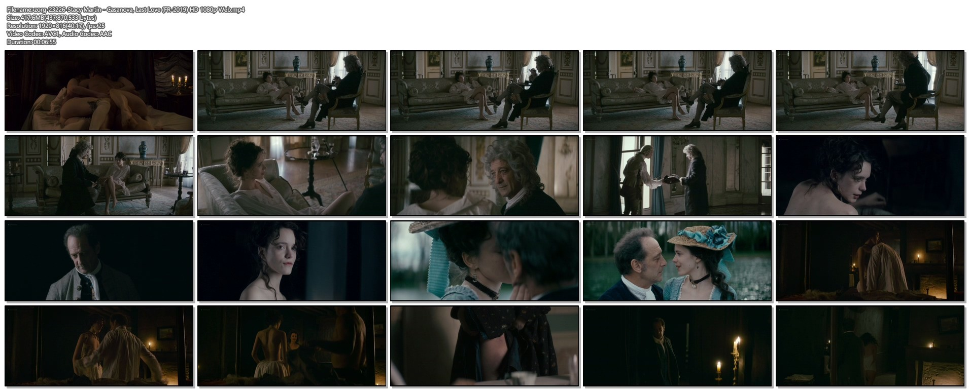 Stacy Martin nude butt and topless - Casanova, Last Love (FR-2019) HD 1080p Web (1)